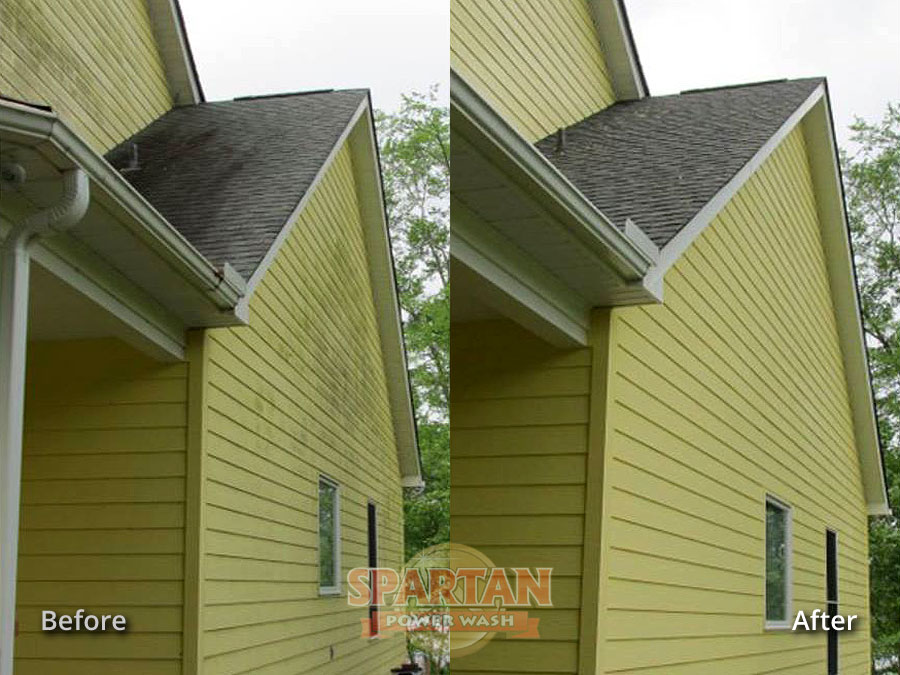 House Roof Soft Pressure Washing Columbia SC
