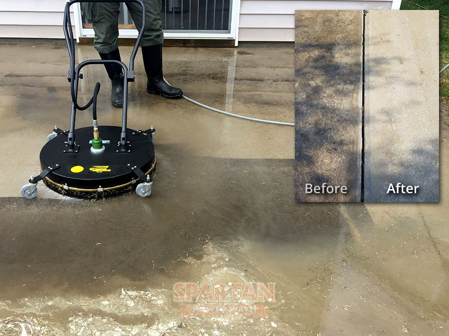 Concrete Patio Pressure Washing Columbia SC