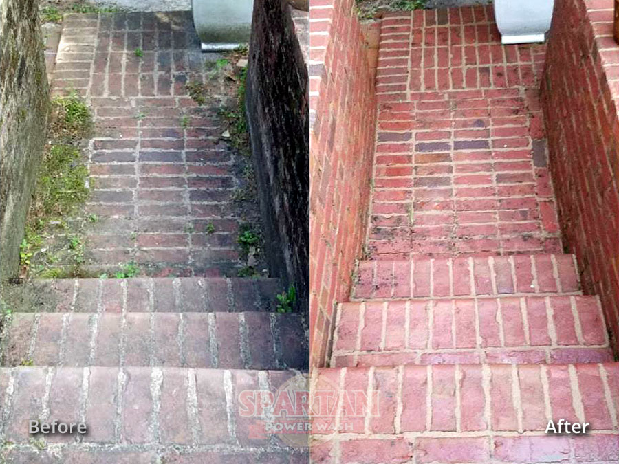 Brick Paver Pressure Washing Columbia SC
