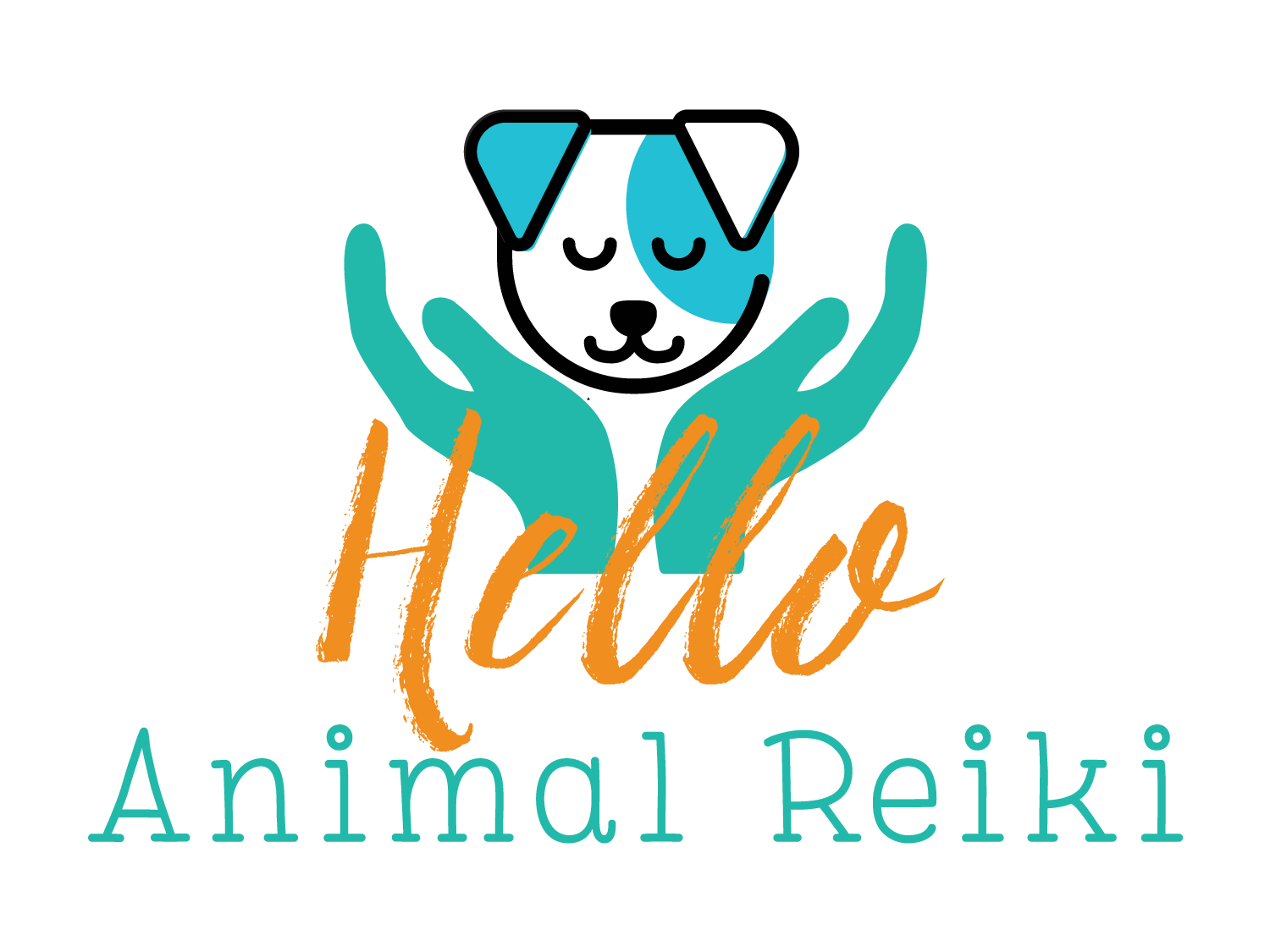 Hello Animal Reiki Logo