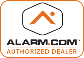 Alarm.com home security alarm system Austin