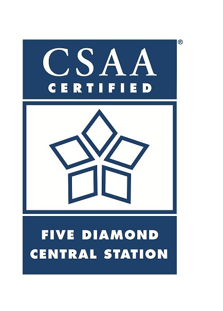 Five Diamond Rated Security Alarm Monitoring by Central Security