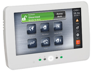 7 inch TouchScreen Alarm Keypad with Prox Support HS2TCHP