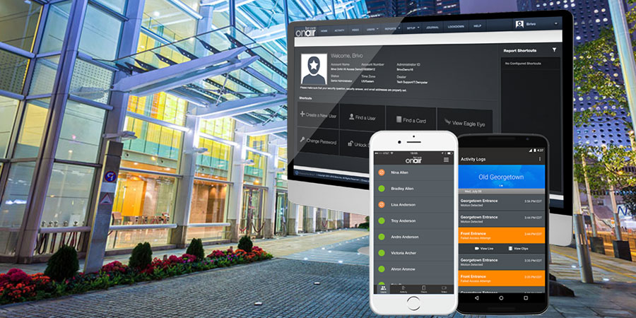 Cloud based Access Control by Brivo