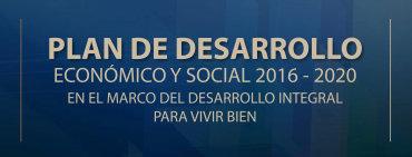 Plan de Desarrollo Económico y Social 2016 - 2020