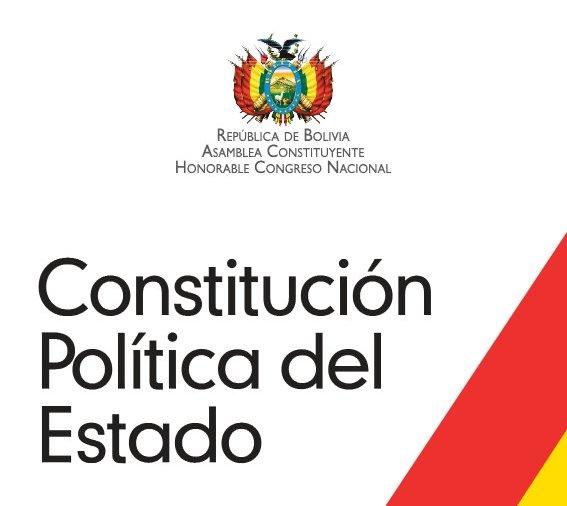 Nueva Constitución del Estado Plurinacional de Bolivia