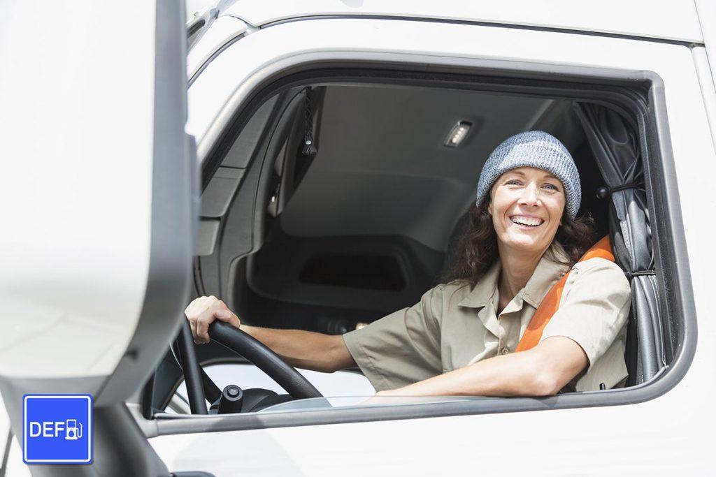 Female Truck Driver