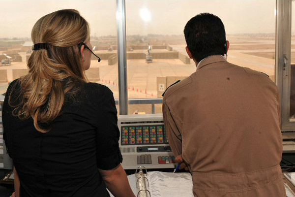 Training Iraqi Airman in Taji Tower