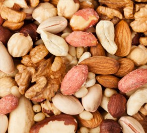 Nuts are number 4 on out list of the top 5 foods good for skin