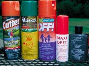 Lyme disease prevention : Bug spray!