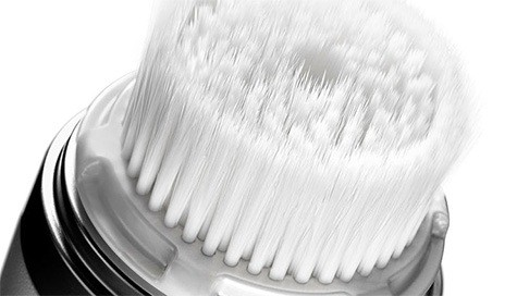 A good sonic exfoliating brush will help prevent breakouts during your period