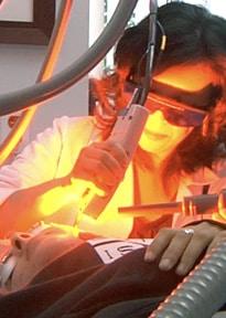 For vascular birthmarks, laser birthmark removal targets the hemoglobin in the blood