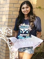 Today Sharan is pre-med at UC Irvine