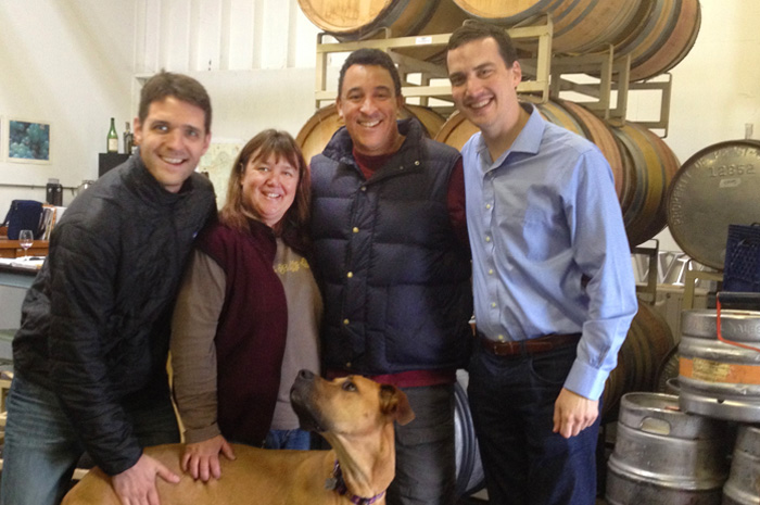 Friends at Wesmar Winery