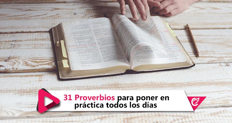 31 Proverbios para poner en práctica todos los días | Más cerca del cielo | #RadioCristiana