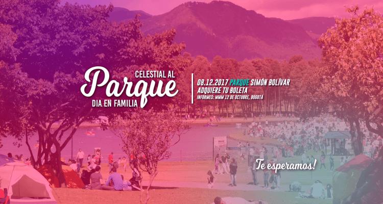 Celestial al parque - día de la familia, movimiento misionero mundial, Bogotá.