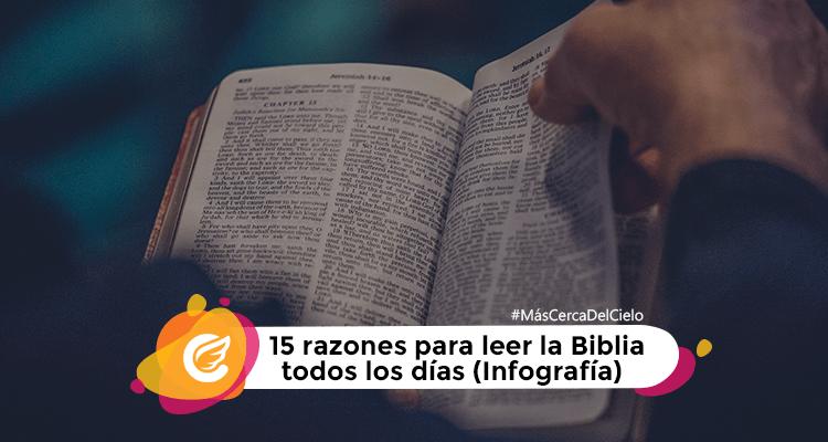 15 razones para leer la Biblia   Mas cerca del cielo   Movimiento Misionero Mundial   Radio Cristiana