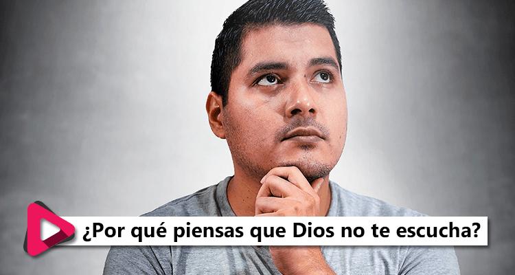 #MiDevocional ¿Por qué piensas que Dios no te escucha?
