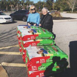 Seabolt Dog Food Donation (1)