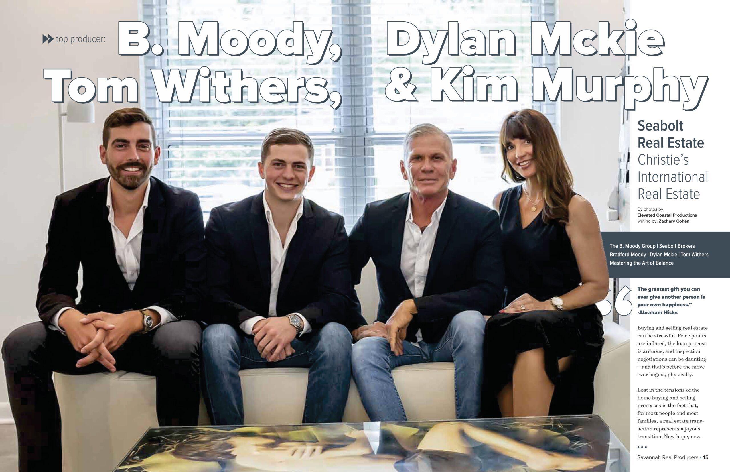 Savannah Real Producers   B. Moody Group