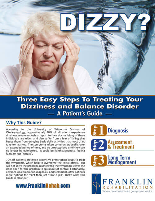 franklin dizzy and balance disorder patient guide