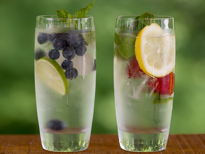 fruit infused water benefits