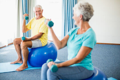 Balance Exercises for Elderly Patients
