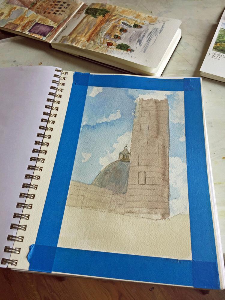 Watercolor Journal