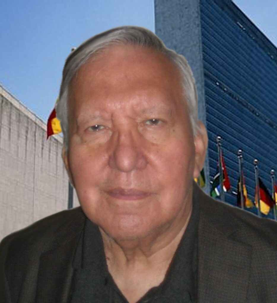Rudy James Native American United Nations Speaker Discovers Reiki Large