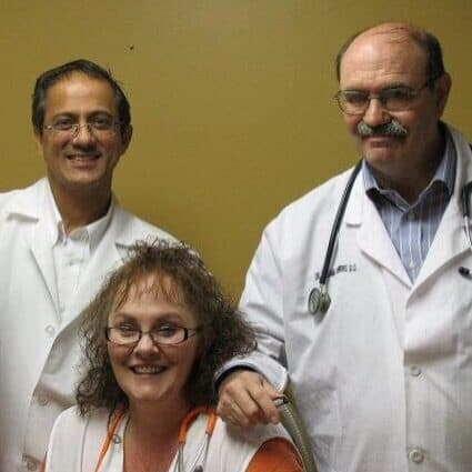 Dr. Hassan Jafary, Tammy Keaton, CFNP, and William Powers, DO are the providers at Stanaford Medical Clinic