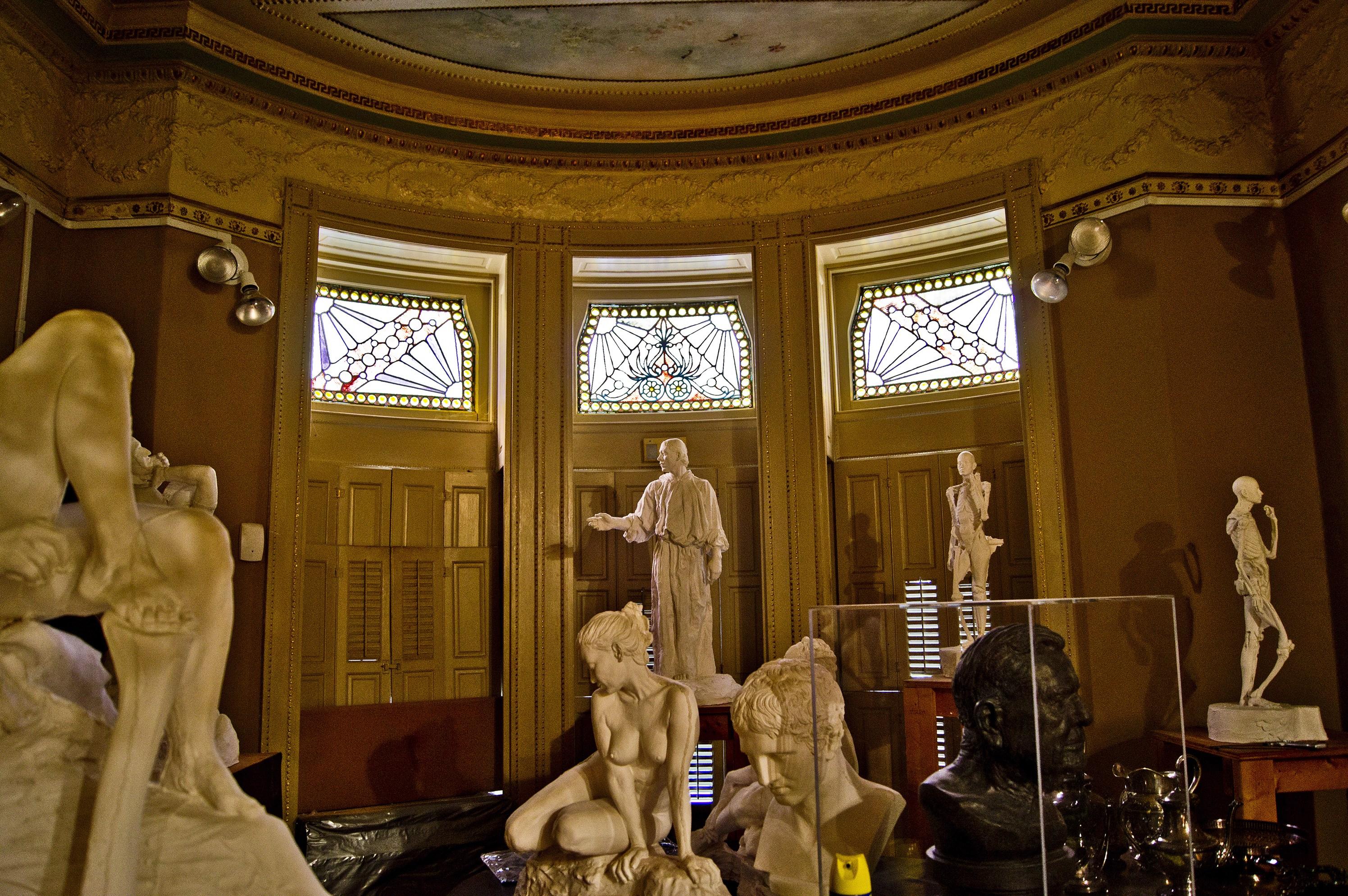 Front Room Exhibition Gallery, Parker Studio Structural Sculpture