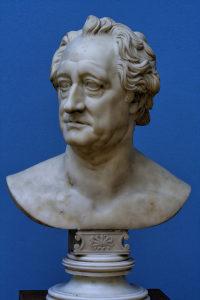C. D. Rauch - Bust of Goethe, Marble, Leipzig, Germany