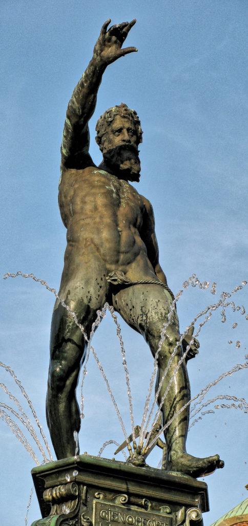 Adriaen De Vries - Frederiksborg slot - Neptun´s fountain, Denmark