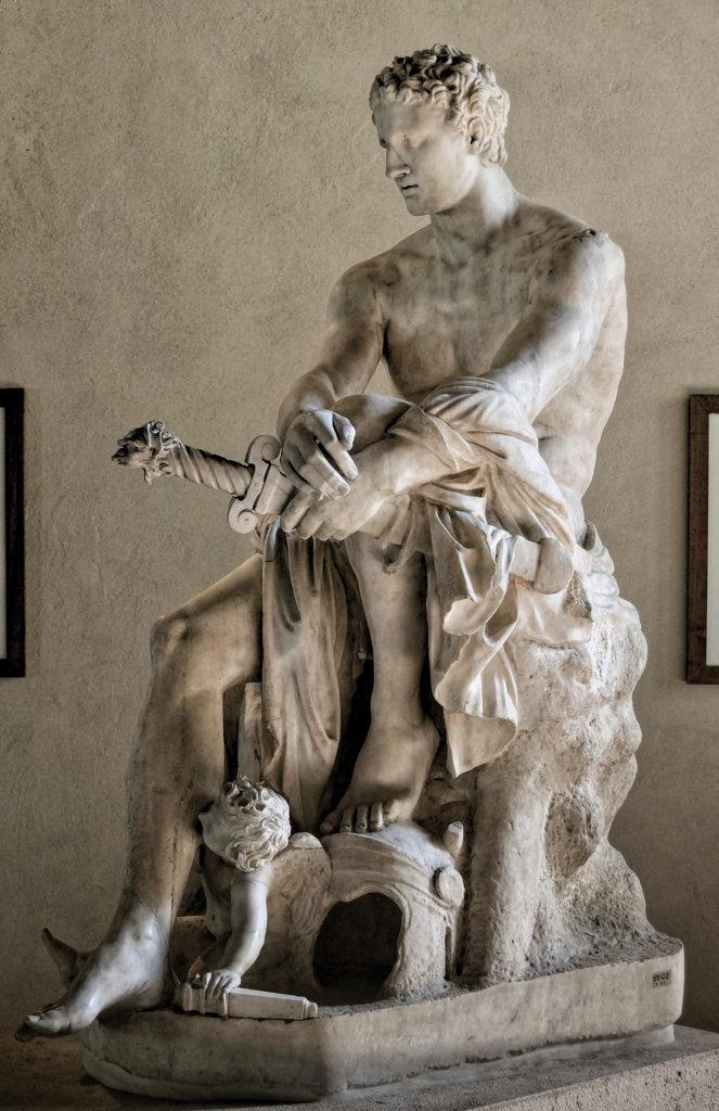 Ares Ludovesi - Palazzo Altemps, Rome, Hellenistic, Greco Roman copy