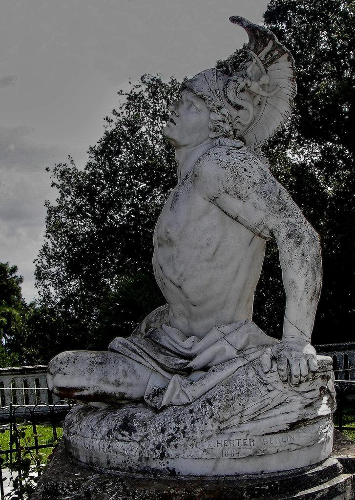 Ernst Gustav Herter - Achilles Dying in Corfu Achilleion