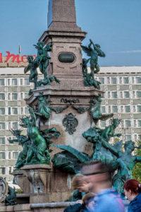Mendebrunnen, Leipzig - Jacob Ungerer - bildhauer