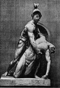 Pasquino Group Menelaus with the body of Patroclus - Bernard Schweitzer reconstruction Halle/Leipzig - Greco-Roman/Hellenistic sculpture