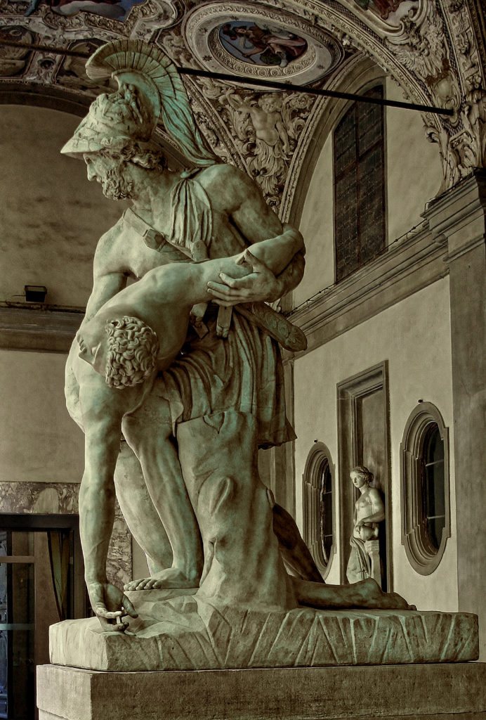 Pasquino Group Menelaus with the body of Patroclus - Bernard Schweitzer reconstruction reference - Halle/Leipzig - Greco-Roman / Hellenistic sculpture in the Palazzo Pitti
