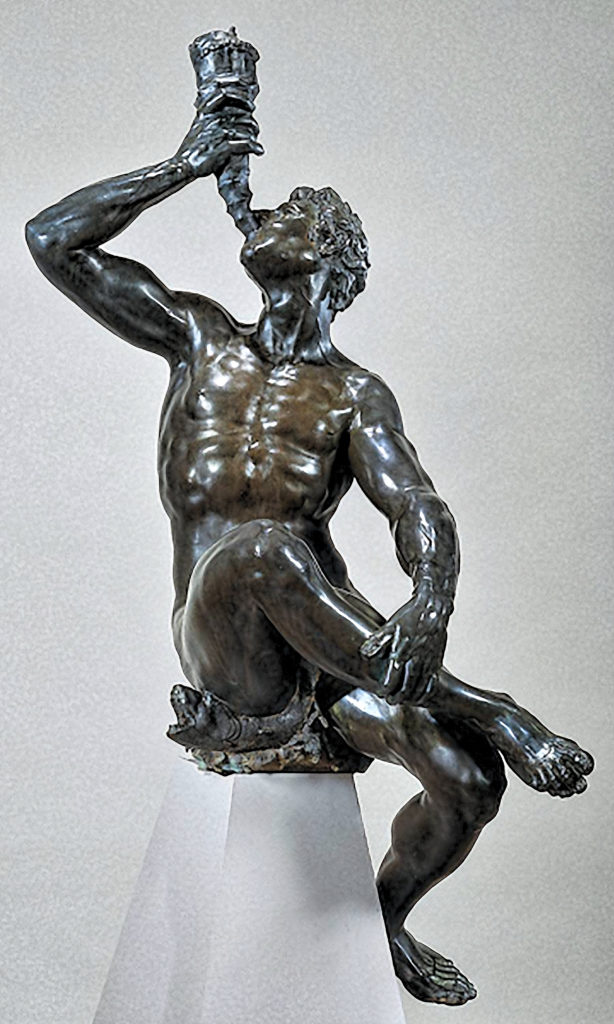Adriaen de Vries - Triton, 1615 1617, Bronze, Rijkmuseum, Amsterdam