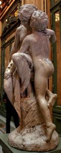 Gustav Eberlein (Berlin Academy) - Escultura El Secreto - Buenos Aires, Argentina