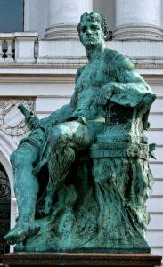 Gustav Eberlein - Bild Kaiser Wilhem Altona, Detail - Detail-Der_Schmied