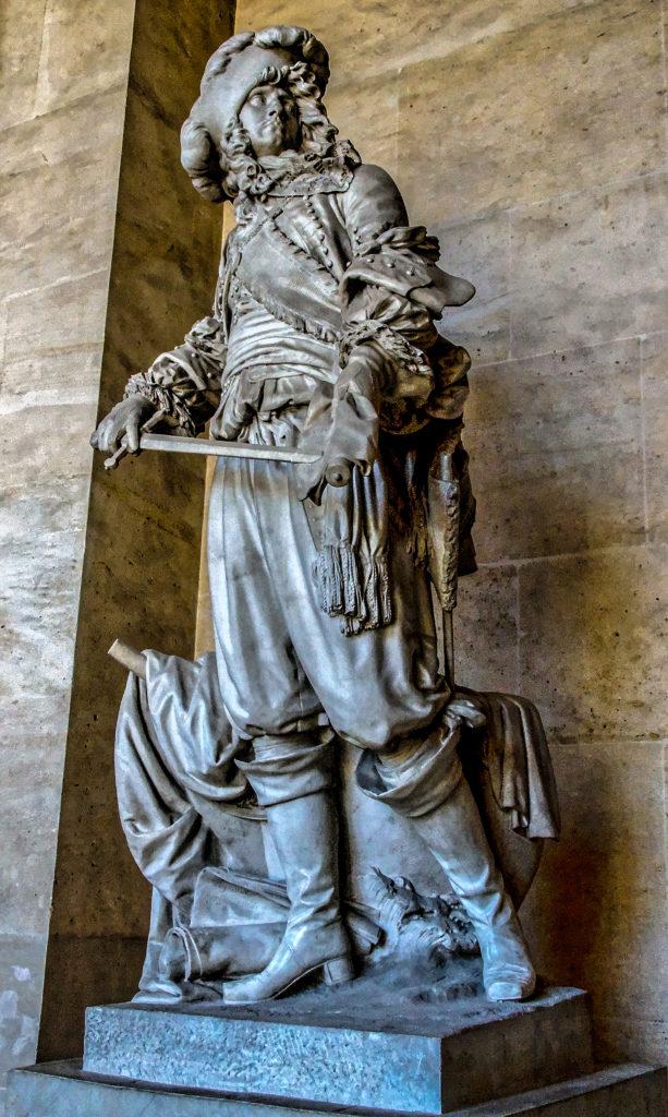 Jean-Antoine Houdon, Anne-Hilarion de Costentin comte de Tourville