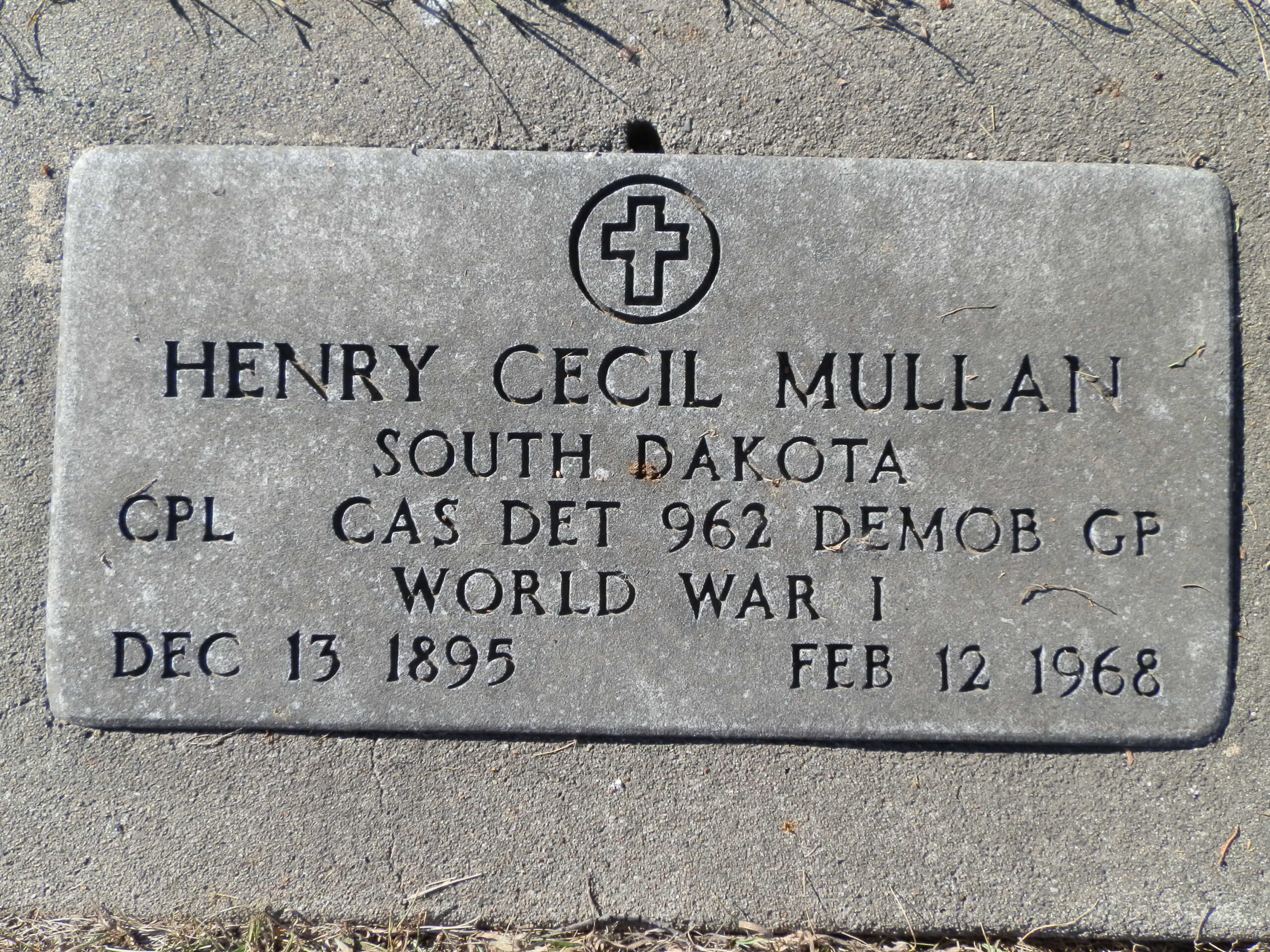 Cecil Mullan