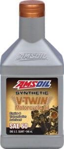 AMSOIL SAE 60 V Twin Oil