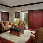 Vertical Blinds Crosswinds® Wood Verticals