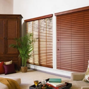Alternative Faux Wood Blinds