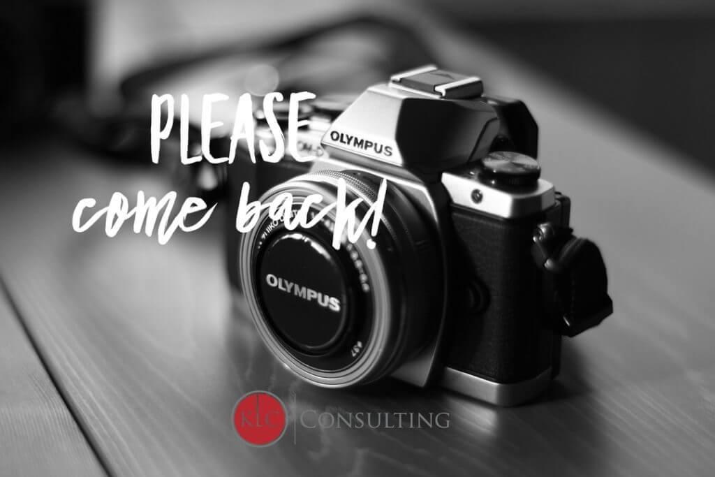 image Please come back!