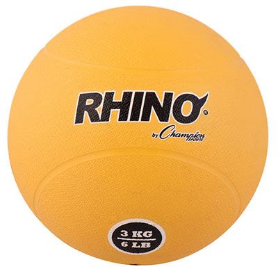 Rhino Rubber Medicine Ball 6 lb