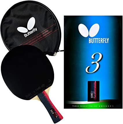 Butterfly 302 FL Racket Set