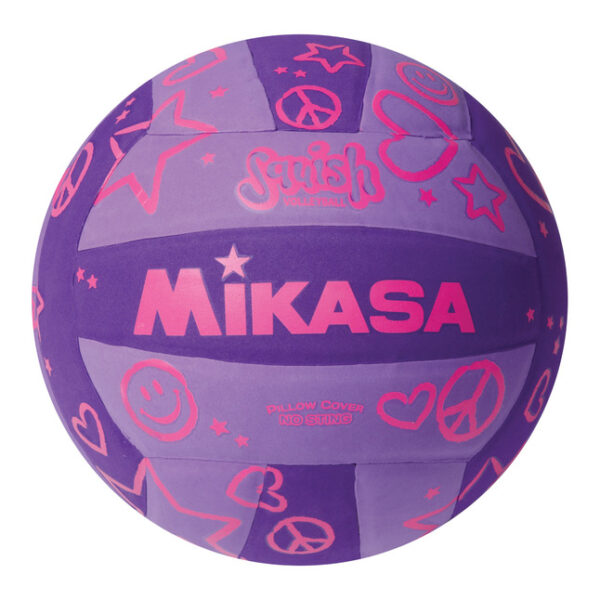 Mikasa Squiash Volleyball Purple